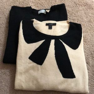 Lot 2 lightweight sweater, large J Crew Old Navy